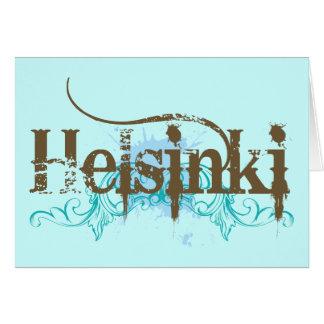 Cartão Helsínquia Finlandia