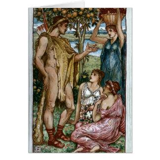 Cartão Hercules & as ninfas