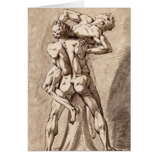 Cartão Hercules e Antaeus