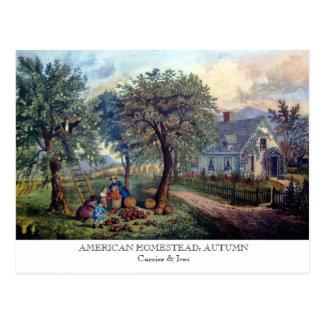 Cartão - HERDADE AMERICANA: Outono
