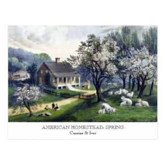 Cartão - HERDADE AMERICANA: Primavera