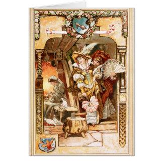 Cartão Hermann Vogel - Cinderella
