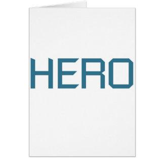 Cartão Herói (edição azul)