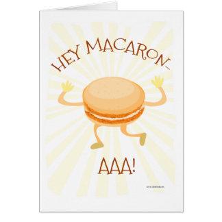 Cartão Hey Macaron AAA
