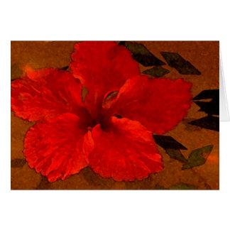 Cartão hibiscus-1