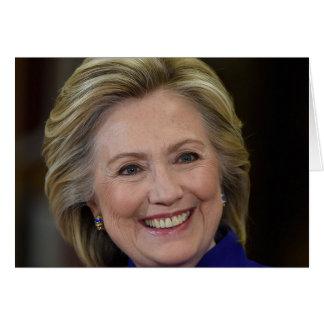 Cartão Hillary Clinton
