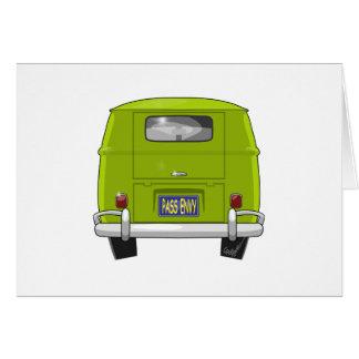 Cartão Hippie 1962 Van