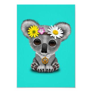 Cartão Hippie bonito do Koala do bebê