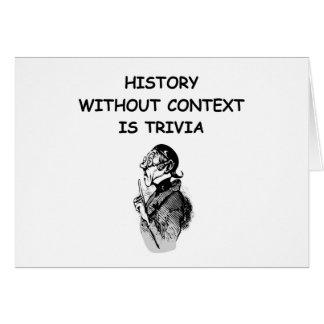 Cartão história