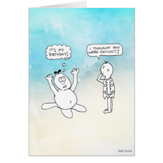 Cartão História em quadrinhos da caverna: É meu