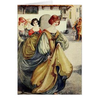 Cartão Histórias de Chaucer -