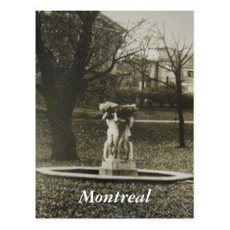 Cartão histórico de Montreal