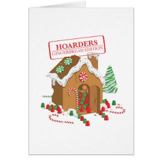 Cartão Hoarders do feriado