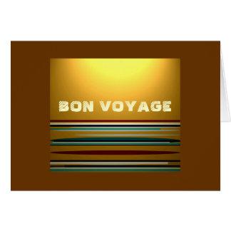 Cartão >Holiday do bon voyage