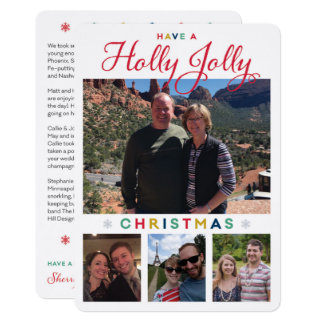 Cartão Holly Jolly Kronlage