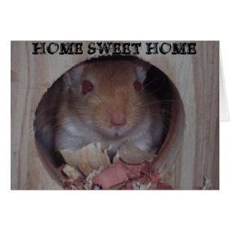 """Cartão HOME DOCES HOME """"faltando o"""" cardam"""