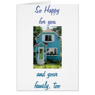 CARTÃO HOME-NEW NOVO MEMORIES-HAPPY PARA YOU/FAMILY