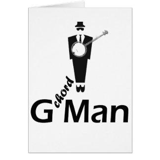 Cartão Homem da corda de G