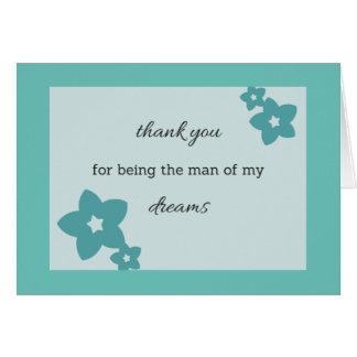 Cartão Homem de meus sonhos 1