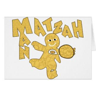 Cartão Homem do Matzah