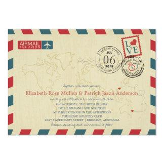 Cartão Hong Kong/correio aéreo antigo | de Austrália que
