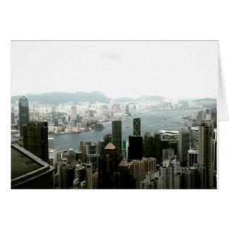 Cartão Hong Kong Notecards