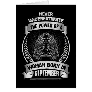 Cartão Horóscopo setembro