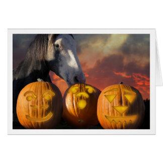 Cartão HorseHaloween