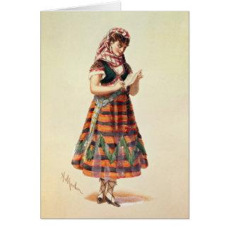 Cartão Hortense Schneider