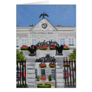 Cartão Hotel Noir de L'Aigle: Fontainebleau FRANCE
