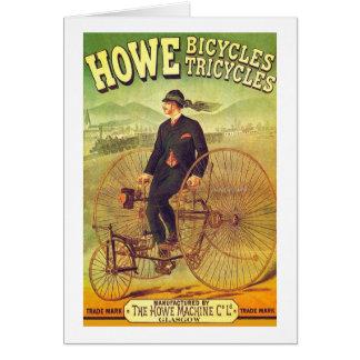 Cartão Howe Bicicleta Empresa