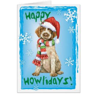 Cartão Howlidays feliz Griffon
