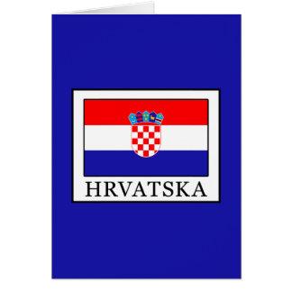 Cartão Hrvatska