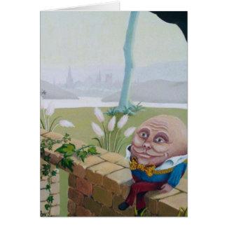 Cartão Humpty Dumpty