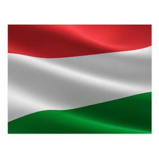 Cartão húngaro da bandeira
