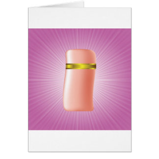 Cartão ícone cosmético