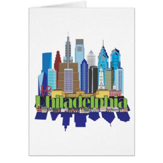 Cartão Ícone novo de Philly