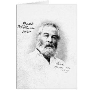 Cartão Idade 46 de Walt Whitman