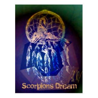 Cartão ideal dos escorpião cartao postal
