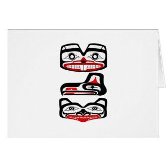 Cartão Identidade tribal