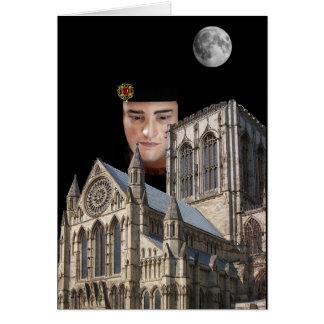 Cartão Igreja acima de Richard III York