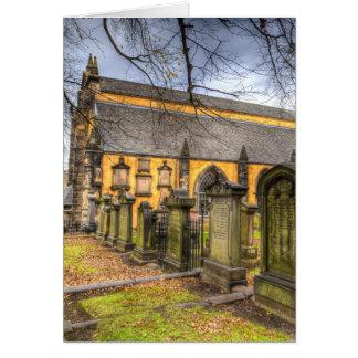 Cartão Igreja de Greyfriars Kirk