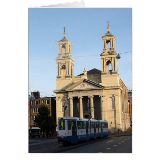 Cartão Igreja de Mozes e de Aäron, Amsterdão