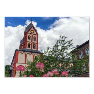 Cartão Igreja de St Bartholomew, Liege, Bélgica