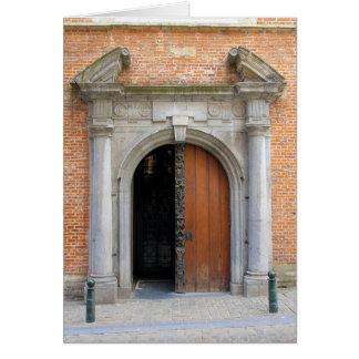Cartão Igreja de St Mary Magdalene - Bruxelas, Bélgica