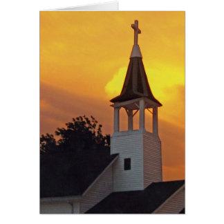 Cartão Igreja do país