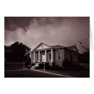 Cartão - igreja do país de South Carolina