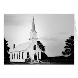 Cartão - igreja do país de Texas