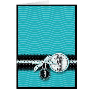 Cartão II da sensação do cavalo marinho