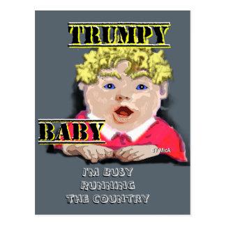Cartão II do bebê de Trumpy